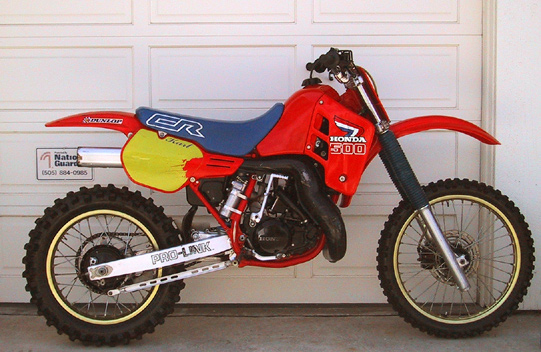 1986 honda cr 500. Black Bedroom Furniture Sets. Home Design Ideas